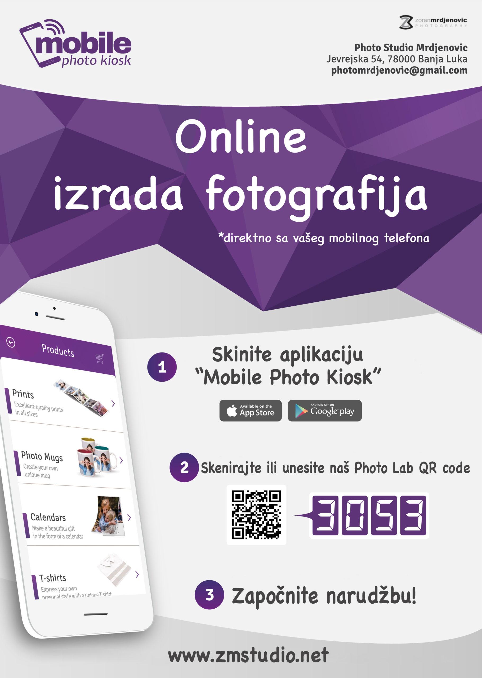 Online izrada fotografija